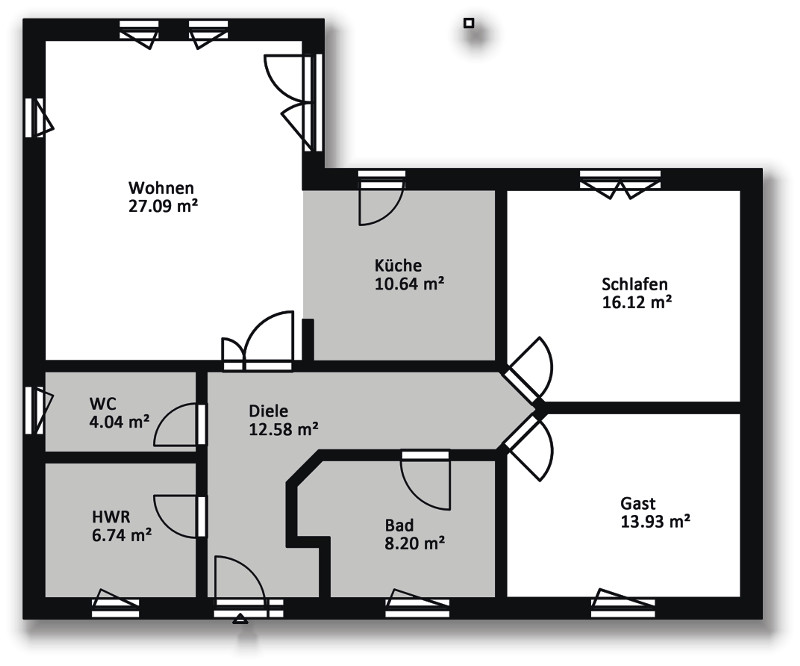 hausserie bungalow massiv bau haus hausbau in mecklenburg vorpommern. Black Bedroom Furniture Sets. Home Design Ideas
