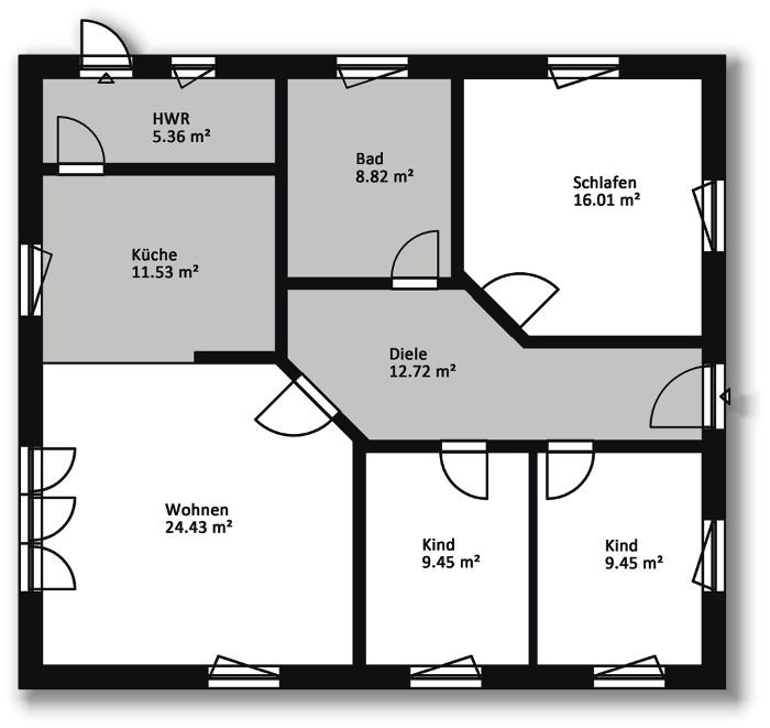 Hausserie Bungalow - Massiv Bau Haus, Hausbau in Mecklenburg Vorpommern